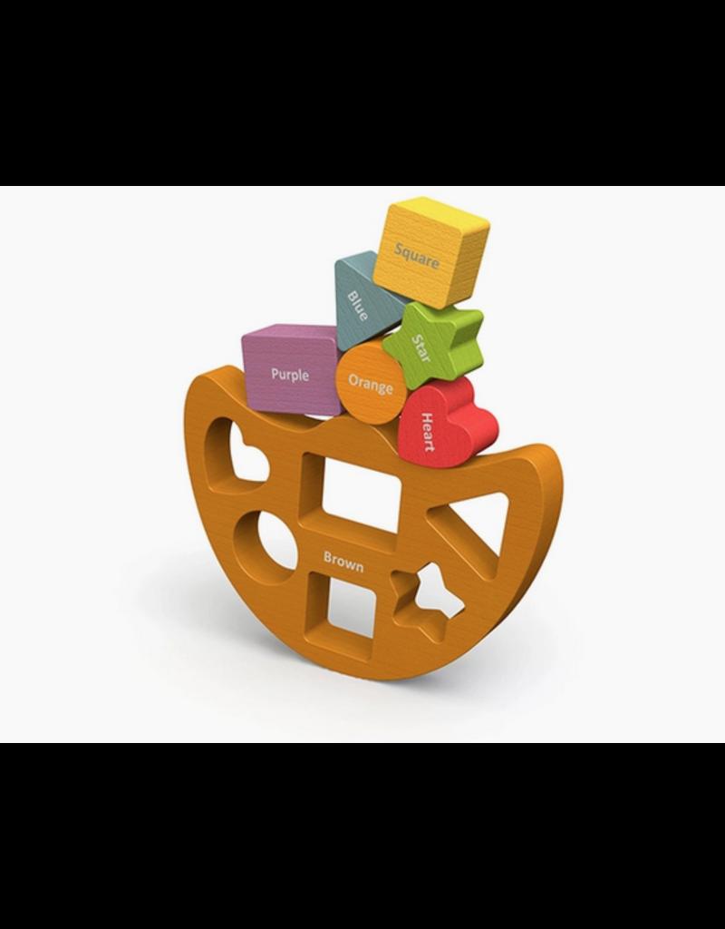Begin Again - Balance Boat Shapes & Colors