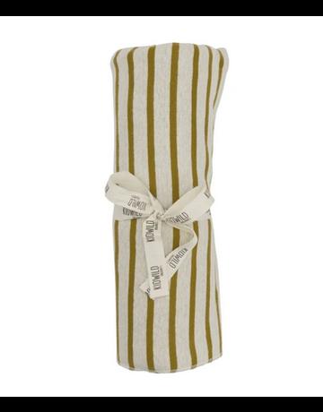 KidWild - Swaddle Blanket Bronze Stripe