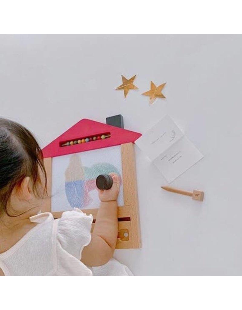 kiko gg Kiko+ & gg Oekaki House Magic Drawing Board - Cat