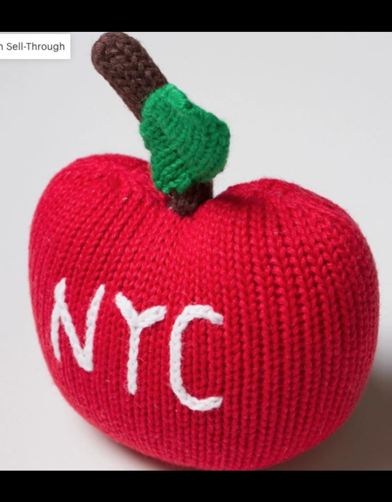 Estella - Organic Big Apple Rattle