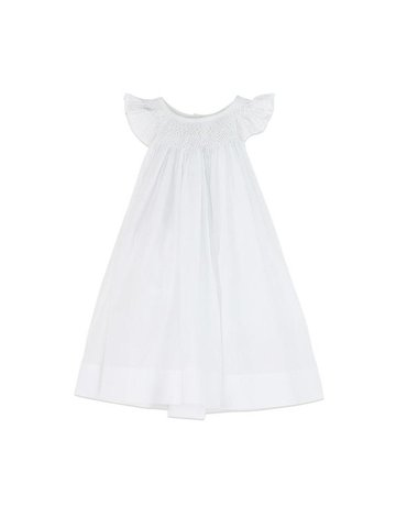 Feather Baby Feather Baby Hand Smock Dress + Bloomer