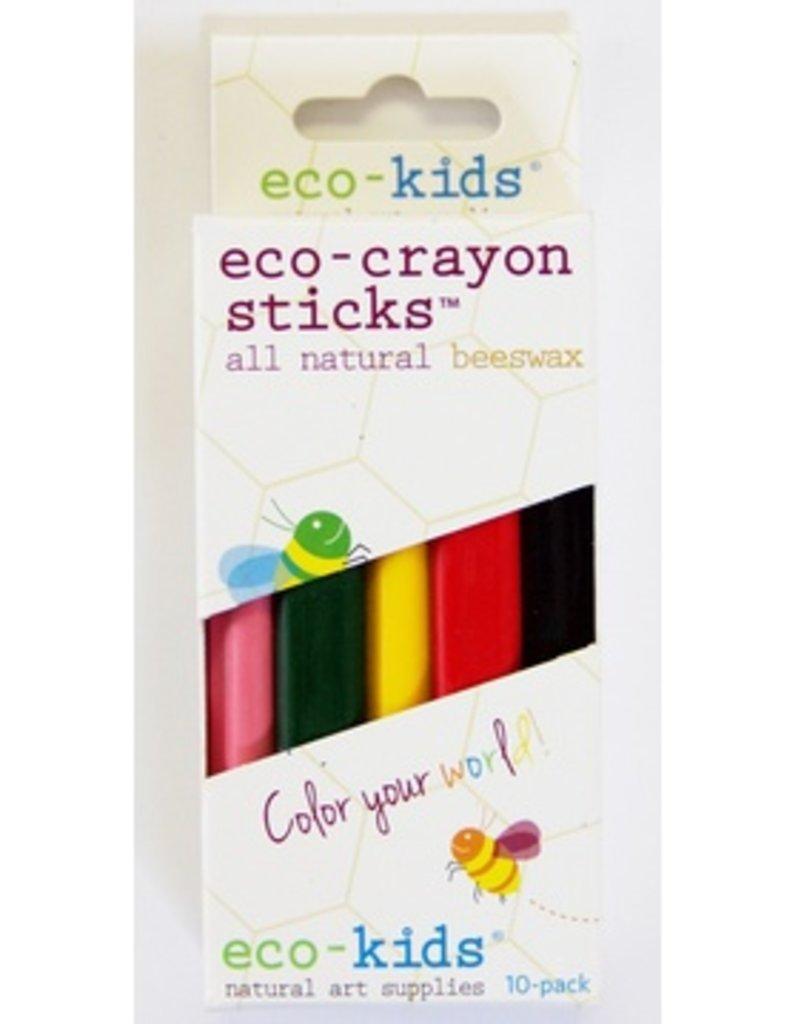 Eco Kids Eco Kids -  Eco Crayons 10-Pack