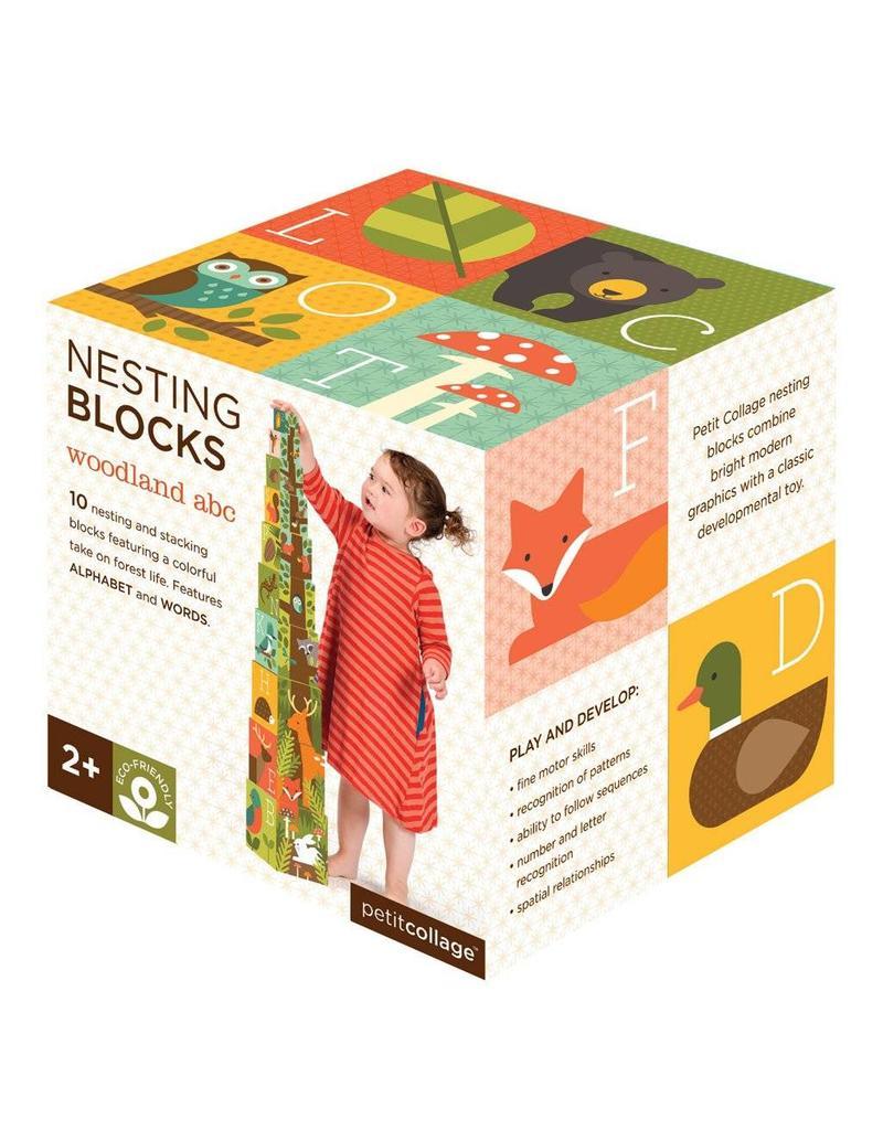 Petit Collage Petit Collage Nesting Blocks