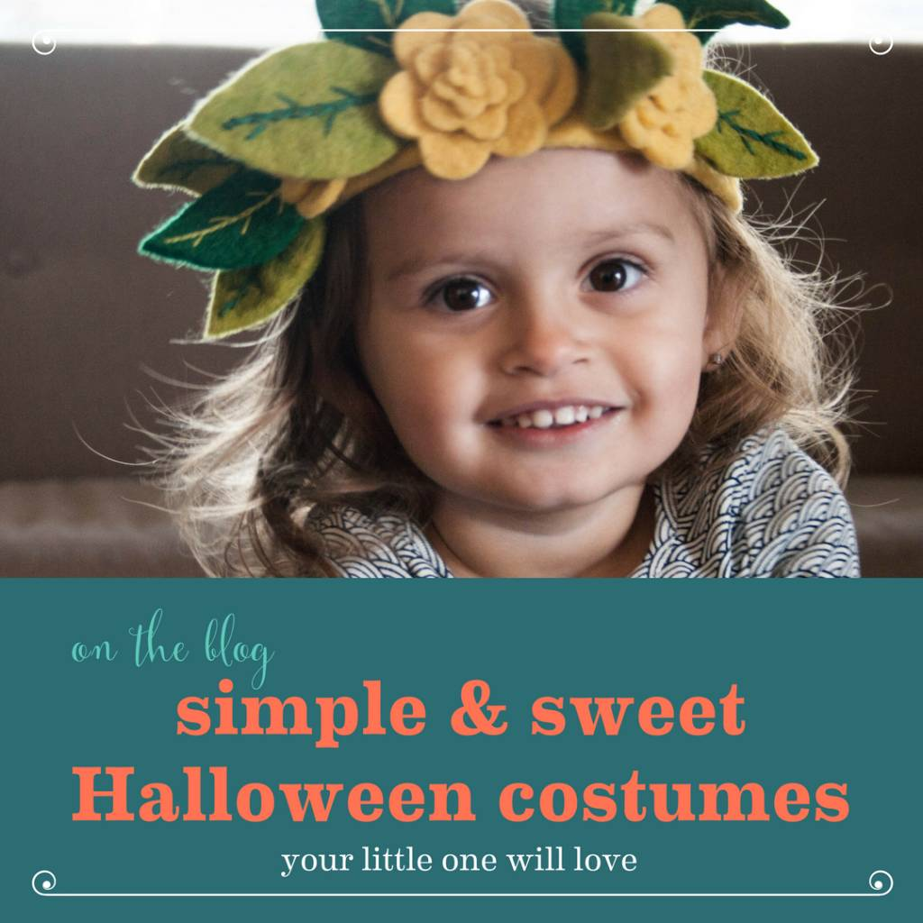 Simple & Sweet Halloween Costumes