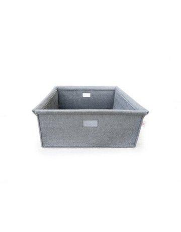 Spot On Square Spot On Square - Wool Felt Bin Grey