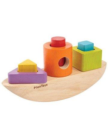 Plan Toys, Inc. Plan Toys - Sorting Boat