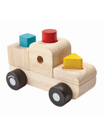Plan Toys, Inc. Plan Toys - Sorting Puzzle Truck