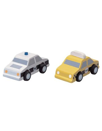 Plan Toys, Inc. Plan Toys City Taxi & Police