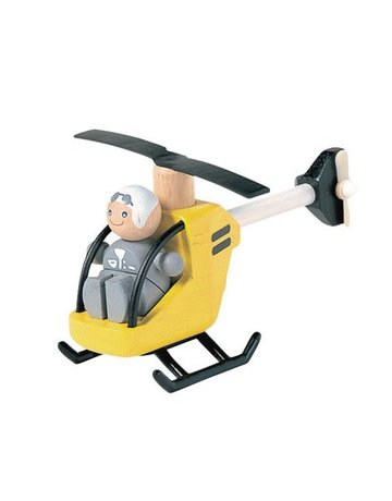 Plan Toys, Inc. Plan Toys Helicopter & Pilot