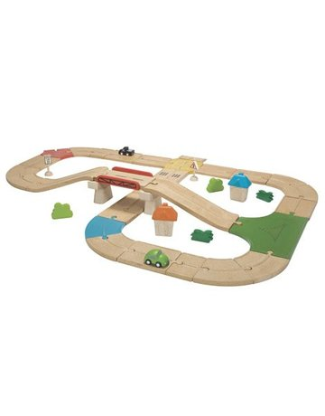 Plan Toys, Inc. Plan Toys Road System Deluxe