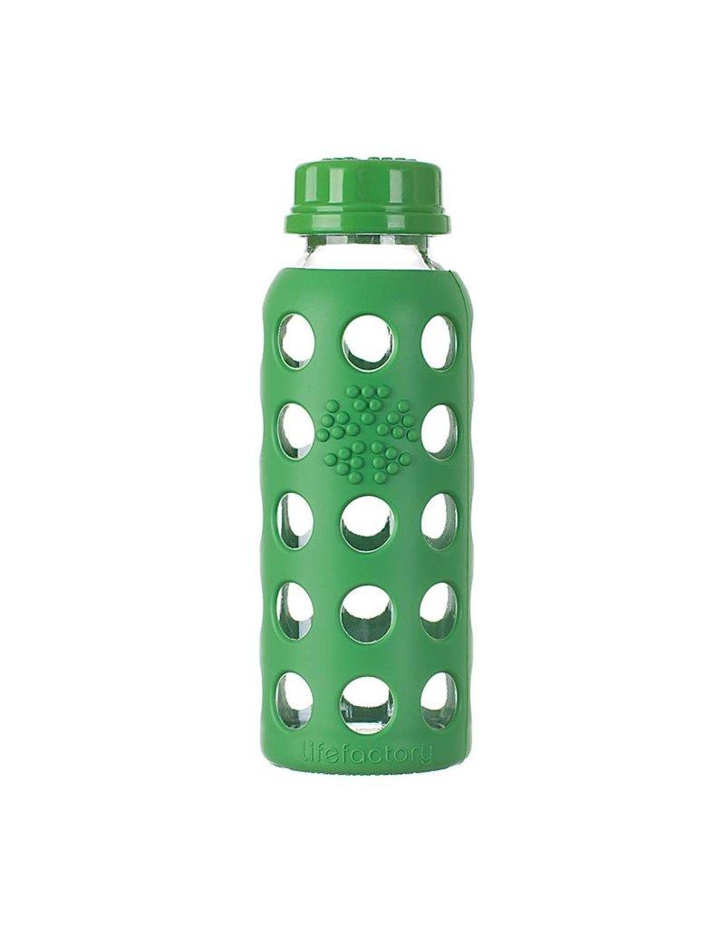 Lifefactory Lifefactory - Glass Bottle With Flat Cap - 9oz