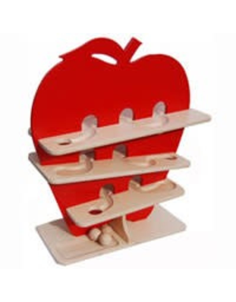 Pure Play Toys Wooden Apple Ball Roller
