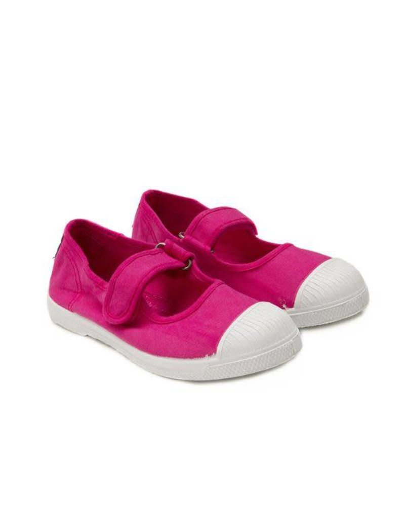 Childrenchic - Mary Janes Velcro Cap Toe