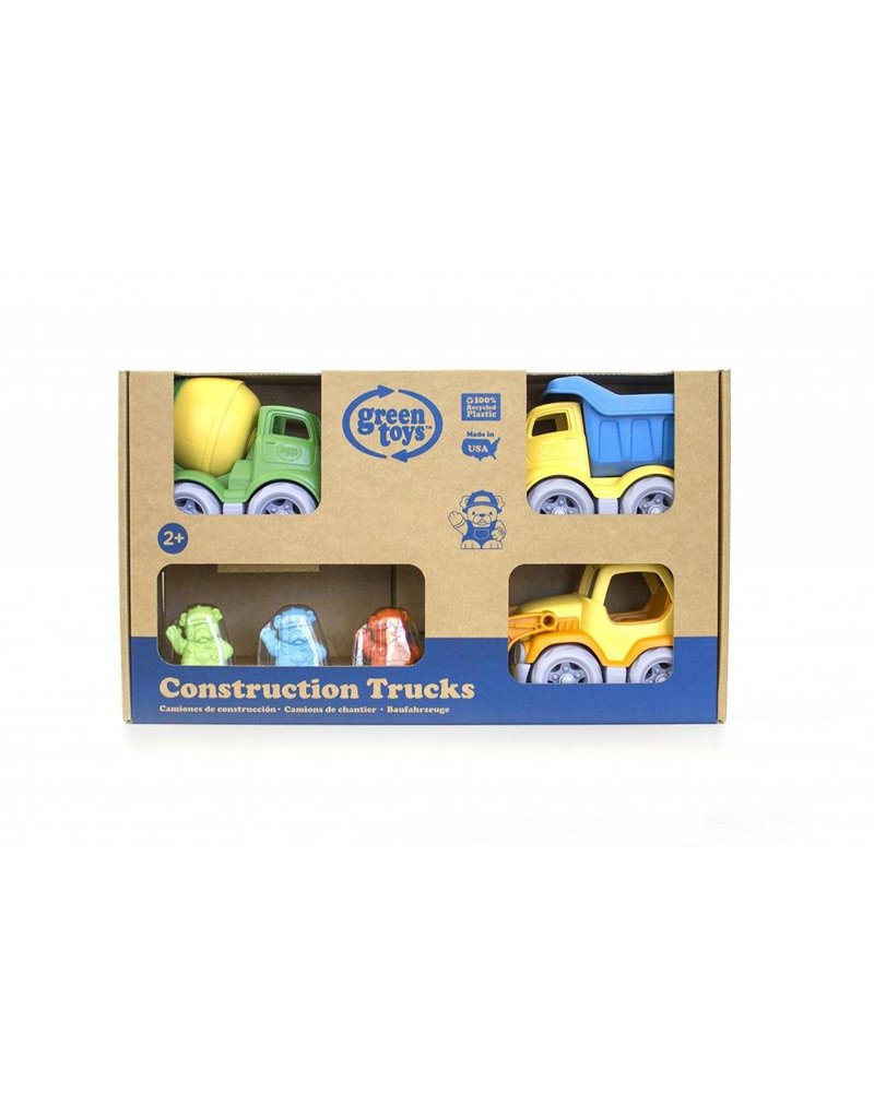Green Toys Green Toys  Construction Trucks Gift Set