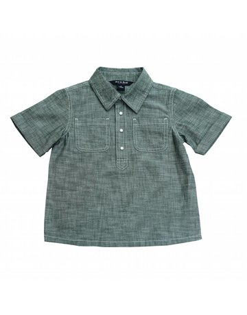 Blu & Blue Blu & Blue - Ryan Green Chambray Shirt