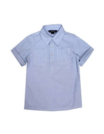 Blu & Blue Blu & Blue - Ryan Blue Shirt