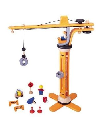 Plan Toys, Inc. Plan Toys Crane Set