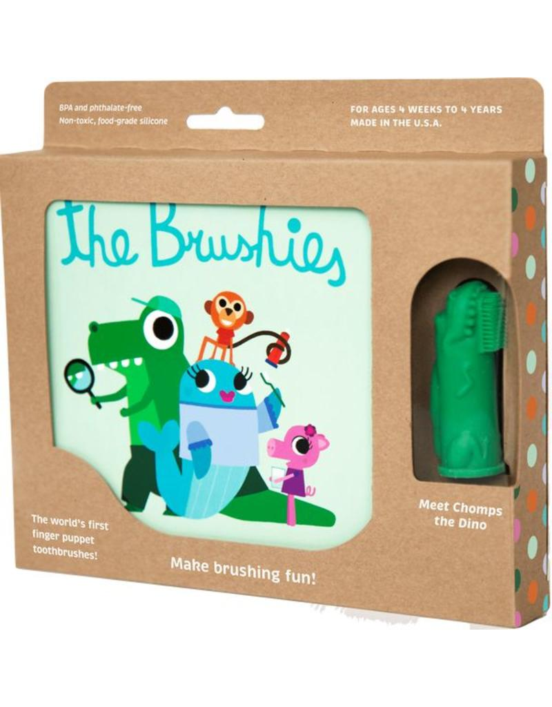 The Brushies The Brushies - Book and Toothbrush/Finger Puppet