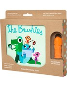 The Brushies - Book and Toothbrush/Finger Puppet