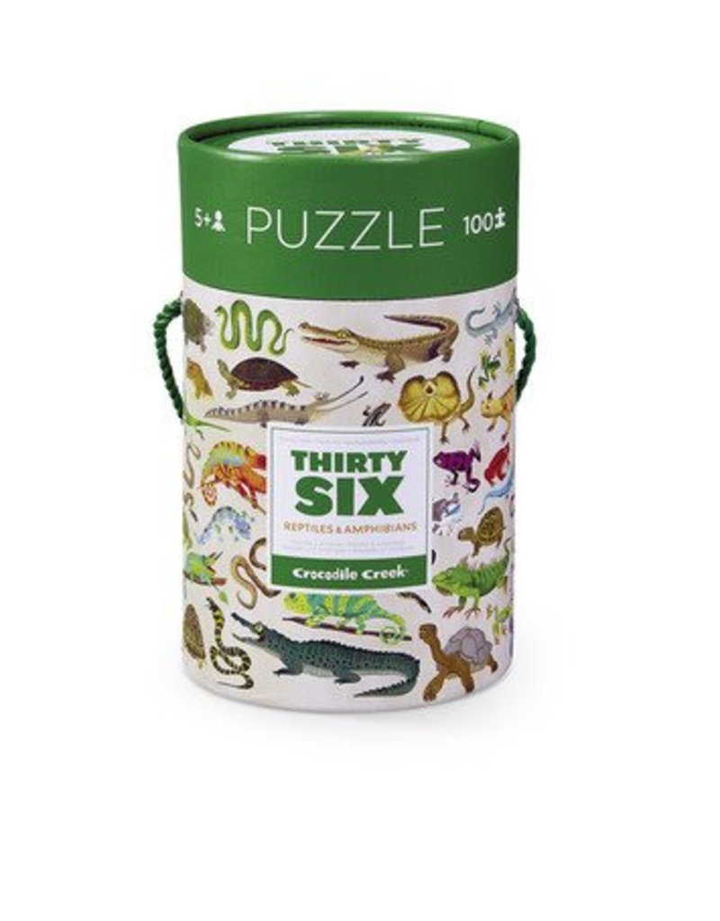 Crocodile Creek Crocodile Creek Thirty-Six Animals 100-piece Puzzle