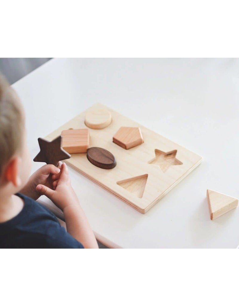 Bannor Toys Bannor Toys - Chunky Shape Puzzle
