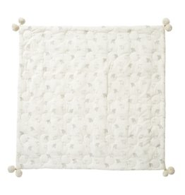 Pehr Designs Petit Pehr - Quilted Pom Pom Blanket Little Lamb