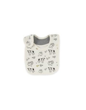 Tiny Twig - Reversible Bib