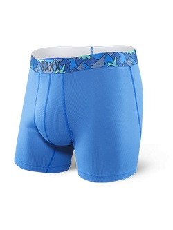 SAXX QUEST BOXER BRIEF FLY - PURE BLUE S