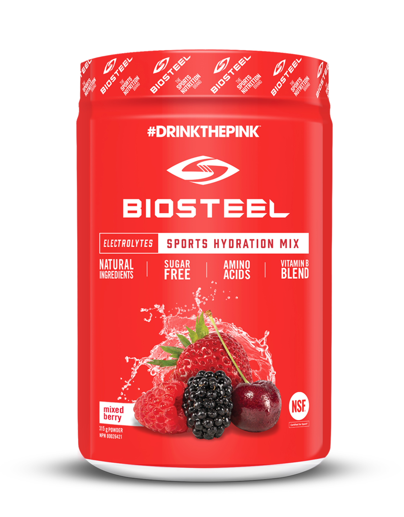 BIOSTEEL  SPORTS HYDRATION - MIXED BERRY - 315g