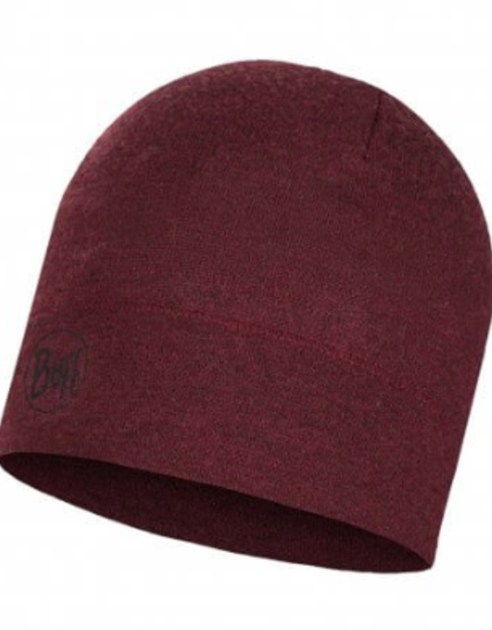 BUFF Wine Melange - Midweight Merino Wool Hat BUFF®
