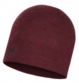 BUFF Wine Melange - Midweight Merino Wool Hat BUFF®