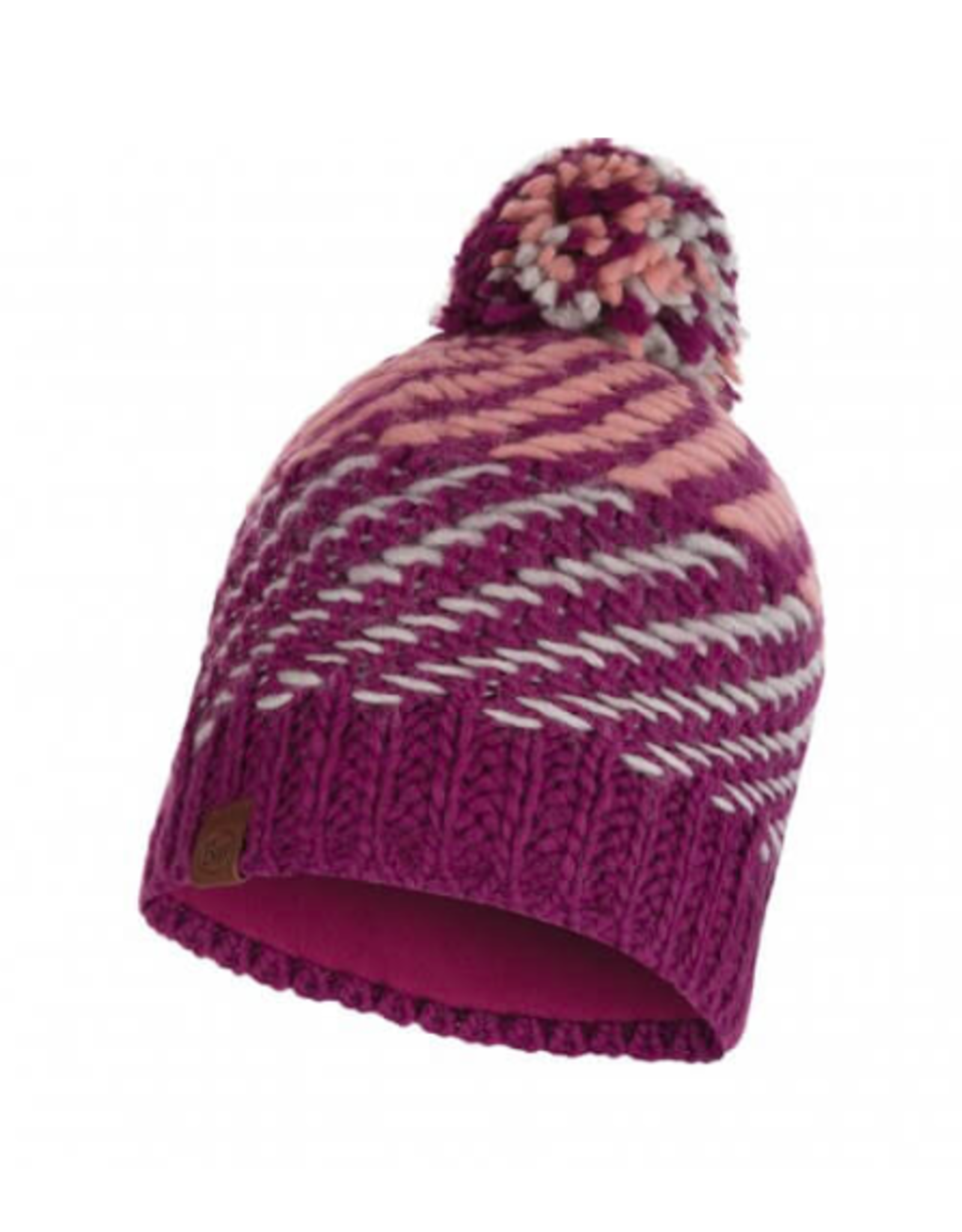 BUFF Nella Purple - Knitted & Polar Hat BUFF®