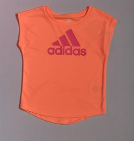 ADIDAS GRAPHIC TEE ORANGE