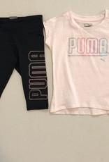 PUMA TWO PIECE SET-PINK/BLACK