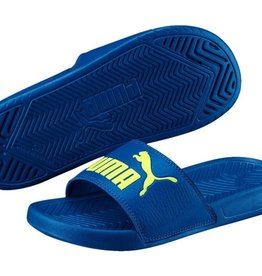 PUMA-POPCAT JR  SANDALS TURKISH SEA-FIZZY YELLOW