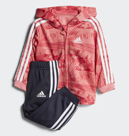 INFANTS SHINY HOODED JOGGER SET