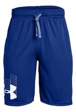 Boy UA Prototype Logo Shorts-BLUE