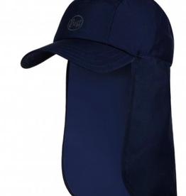 BUFF SOLID NIGHT BLUE - BIMINI CAP BUFF