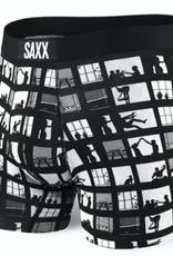 "SAXX SAXX-VIBE BOXER MODERN FIT-BRIEF 5"" -REAR WINDOW-XL"
