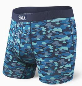 SAXX SAXX UNDERCOVER BOXER BRIEF FLY BLUE WATER CAMO-S