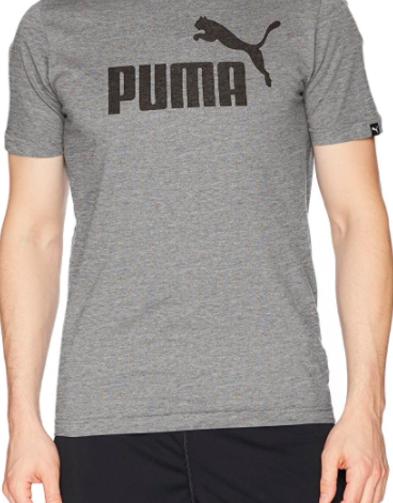 PUMA ESS NO.1 HEATHER TEE/MEDIUM GRAY