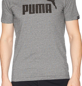 PUMA ESS NO.1 HEATHER TEE/MEDIUM GRAY