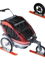 4 WHEEL STROLLER SKI SET / CHARIOT