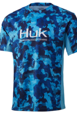 huk icon X KC refraction camo blue ss med