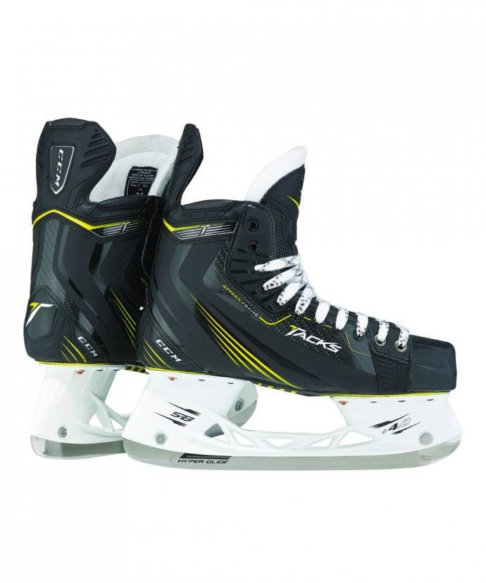 CCM TACKS SR ICE SKATES CCM D 8.5