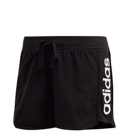 ESSENTIALS LINEAR WOMENS SHORTS BLACK