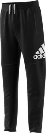 Adidas YOUTH BOY LOGO PANTS BLACK