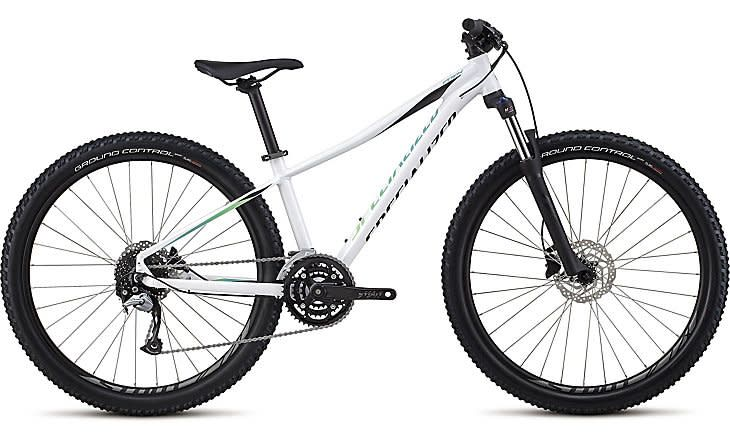 specialized WOMEN'S PITCH COMP 27.5 Gloss Satin White/Cali Fade/Black- L