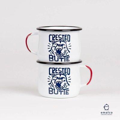 Crested Butte Bear Enamel Mug *ON SALE*