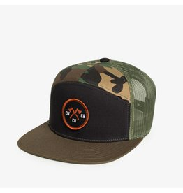 Chopwood 7-Panel Trucker Axe Patch Hat
